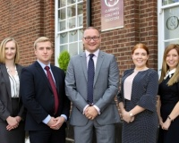 Clapham & Collinge Solicitors announce trainee promotions and welcomes new starters