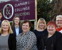 Clapham & Collinge Solicitors announce partnership promotion
