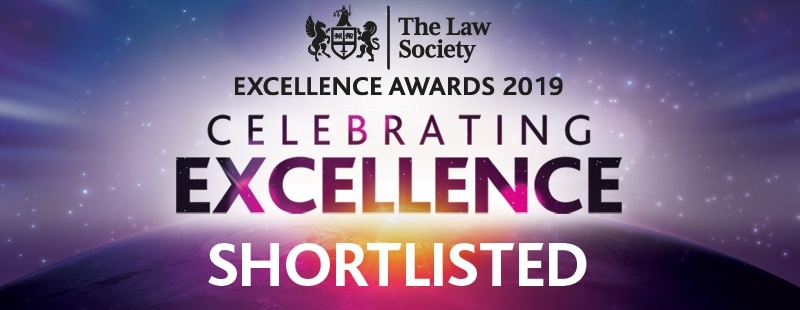 Clapham & Collinge LLP shortlisted for prestigious legal awards