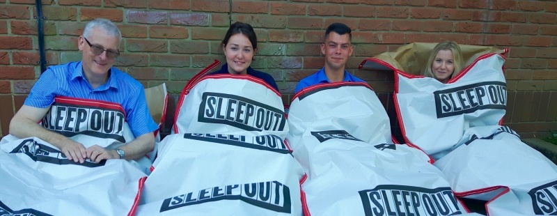 Clapham & Collinge pledges to support The Benjamin Foundation's Sleep Out