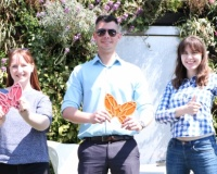 Clapham & Collinge Solicitors sponsor The Benjamin Foundation's Butterfly Treasure Hunt