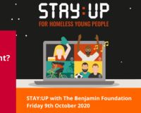 Proud Sponsors of The Benjamin Foundation's STAY:UP Event