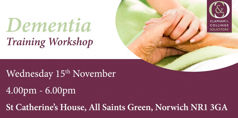 dementia-training-workshop-clapham-collinge-solicitors-norwich-november-2017